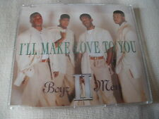 BOYZ II MEN - I'LL MAKE LOVE TO YOU - UK CD SINGLE