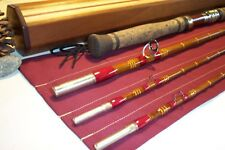 CUSTOM REBUILD: 13ft. Bamboo Spey Fly Rod 7-9wt. 3/2 Tips w/My Custom Wood Case