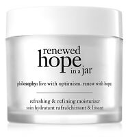 Philosophy Renewed Hope In A Jar Moisturizer 2 OZ. New In Box