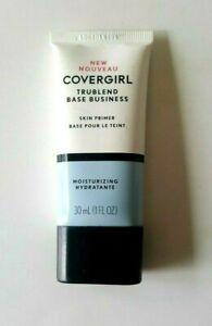 Covergirl Trublend Base Business Moisturizing Skin Primer Makeup ~ 1 fl oz NEW