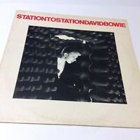 David Bowie 'Station to Station' 1975 2nd 'Stereo' Labelled Vinyl LP EX/VG+ Nice