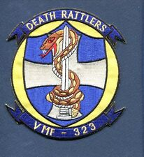 "VMF-323 DEATH RATTLERS USMC MARINE CORPS WW2 Korea Fighter Squadron 5"" Patch"