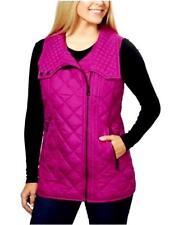 $100 Marc New York Magenta Pink Winter Fall Puffer Vest M 6 8