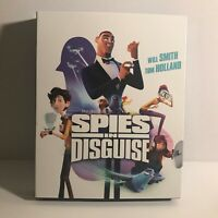 Spies in Disguise Animated Movie Blu-Ray Disc Only (No DVD No Digital)