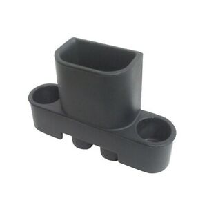 VDP 31600 Black Snap-On Trash Can & 2 Cup Holders for Jeep Wrangler JK