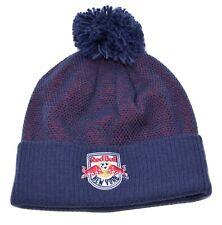 New York Red Bulls adidas KY11Z MLS Team Soccer Pom Knit Winter Hat Cap