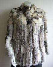 vtg RABBIT FUR jacket coat S M