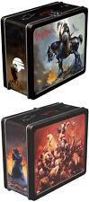 Frazetta New * Death Dealer Lunch Box * Fantasy Metal Tote Conan Dark Horse