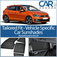VW Volkswagen Polo 5dr 2017> UV CAR SHADES WINDOW SUN BLINDS PRIVACY GLASS TINT