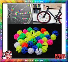 36 Pcs Bicycle Spoke Decoration Bike Wheel Spoke Beads Clip