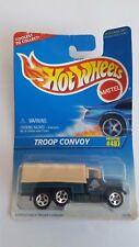 New 1996 Hotwheels Troop Convoy #487 16296 Metal Diecast Brand !