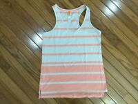 LUCY Women's Active wear Racer back Yoga Workout Running Tank Top Size M
