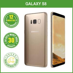 New Unlocked Samsung Galaxy S8 G950F 64G Smartphone Multi Colours
