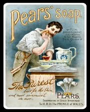 PEAR'S SOAP BATHROOM TOILET VINTAGE STYLE NOSTALGIC METAL SIGN TIN PLAQUE 539