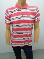 Polo FILA Uomo taglia size M maglia maglietta manica corta cotone t-shirt  5642