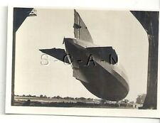 WWI Org German Real Photo- Cigarette Card- Zeppelin- Navy Airship LZ 53- 1917