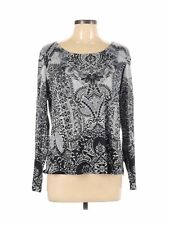 New listing Style&Co Women Gray Long Sleeve T-Shirt L