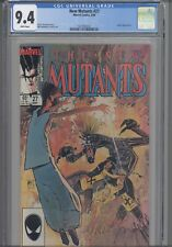 New Mutants #27 CGC 9.4 Marvel 1985  Comic: Legion  App :NEW CASE