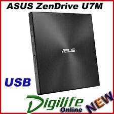 ASUS ZenDrive U7M External CD DVD/RW Writer Ultra Slim USB M-Disc SDRW-08U7M