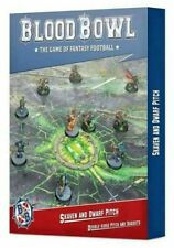 SKAVEN AND DWARF PITCH double sided BLOOD BOWL games workshop IN INGLESE citadel