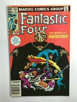 FANTASTIC FOUR #254 THE MINDS OF MANTRACORA! 1st App.  Marvel 1983