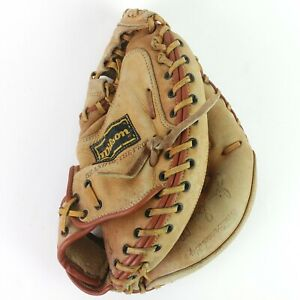Wilson A2504 Jim Sundberg Signature Catcher's Mitt Baseball Glove T1