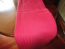 PIER 1 RED KNIT SMALL THROW BLANKET 46 X 56