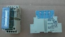 Omron G7S-3A3B Relay DC24V 14-Blade/Pin AC240V 3a G7S3A3B with base P7S-14F