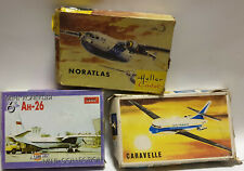 AVIATION : CARVELLE, NORTLAS, AH-26 MINI MODEL KIT SET