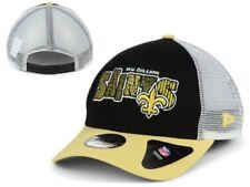 NWT New NWT New Orleans Saints New Era NFL Trucker Joy Youth Snapback Hat Cap