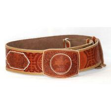 Mongolian Brown Belt Buckle for Deel