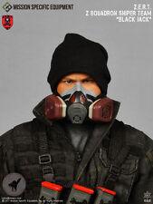 The Division 1/6 Action Figure MSE ZERT Sniper Black Jack Respirator Mask 26