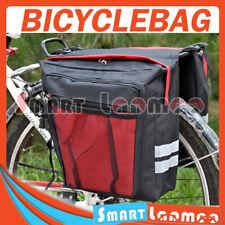 New Bike Bicycle Rear Rack Pannier Bag Waterproof Seat Box