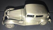 Danbury Mint Pewter Car - 1932 ALFA ROMEO