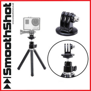 ADJUSTABLE TRIPOD MOUNT STAND FOR GOPRO MAX HERO 9 8 7 6 5 4 ACTION CAM GO PRO