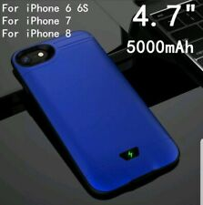 5000/8000mAh PowerBank Slim Ultra Thin Battery Case For iPhone 6 6S 7 NEW