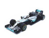 Bburago 1:18 Mercedes Benz AMG Petronas F1 FW07 Hybrid LEWIS HAMILTON Model Car
