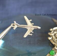Unique Sterling Silver Jet Aircraft/Airplane Plane Charm