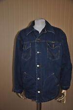 Wrangler Jeans Veste Veste Bleu blue jeans 90er TRUE VINTAGE Jeans Jacket 90 S