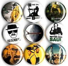 Breaking Bad 8 NEW 1 inch pins buttons badges heisenberg