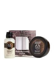 Body Shop Exotically Creamy Coconut Festive Body Butter & Shower Gel Duo Gift Se