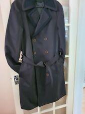Mens Long Dark Blue Diesel Long Coat