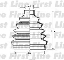 CV JOINT BOOT KIT FOR VOLVO S60 FCB2350R