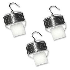 3x Tropfenfänger mit Schaumstoffröllchen Teekanne Teebesen Tüllensieb Kaffekanne
