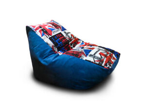 Bean Bag Сhillout Sofa Cover Indoor/Outdoor Game Seat Couch Without Fillings