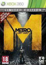 METRO LAST LIGHT per XBOX 360 Limited Edition (Nuovo Sigillato)