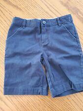 Gymboree Playproof Uniforms Size 10 Navy Blue Shorts EUC
