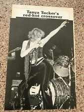 1979 VINTAGE 2PG PRINT ARTICLE/PHOTO ON SEXY TANYA TUCKER'S RED-HOT CROSSOVER