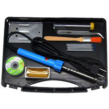 AideTek Electric 12-in-1 Welding Soldering Iron kit 30W 110V Portable Toolbox