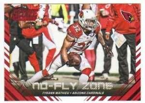 2016 Score No Fly Zone Red #7 Tyrann Mathieu Cardinals NM-MT